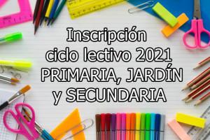 CICLO LECTIVO 2021